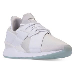 Puma Muse Ice Iridescent Low Top Sneaker